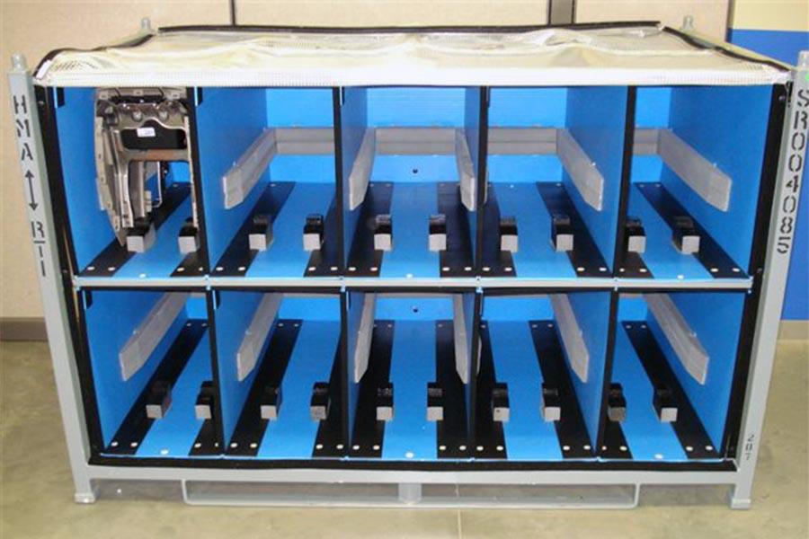 Steel Racks Carts Amp Dollies Returnable Packaging Resource